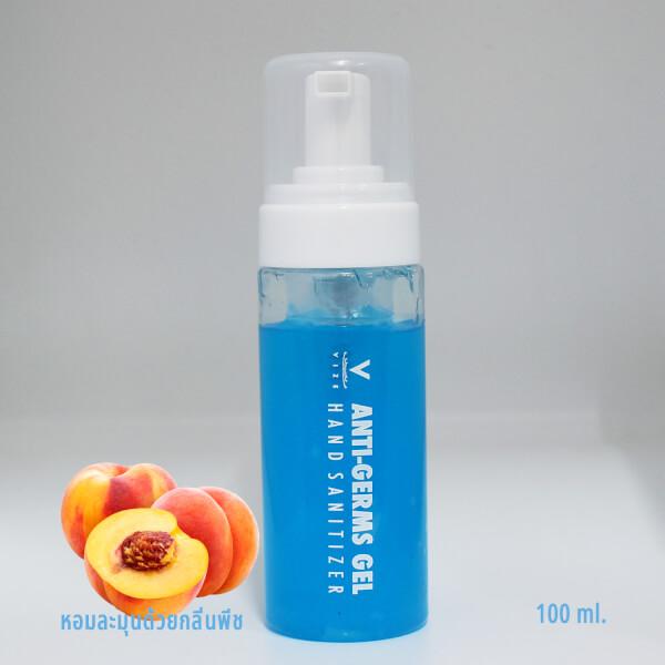 เจลล้างมือกลิ่นพีช ซีพเพิล แฮนด์ ซานิไทเซอร์ ขนาด100ml.