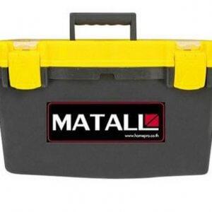กล่องเครื่องมือ PRO HUALEI พลาสติก16 นิ้ว สีดำ-เหลือง