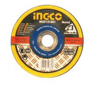 INGCO ใบตัดเหล็ก 4 x1.2 mm MCD121001