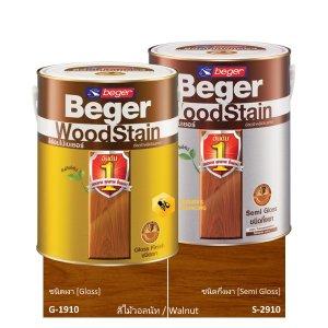 Beger WoodStain Walnut สีย้อมไม้