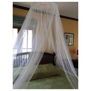 มุ้งกลมใช้กับเตียงเดียวจนถึงเตียง 6 ฟุต
