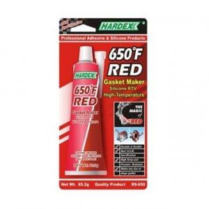 Hardex Hi-Temp Red Gasket Maker กาวซิลิโคนประเก็นเหลว