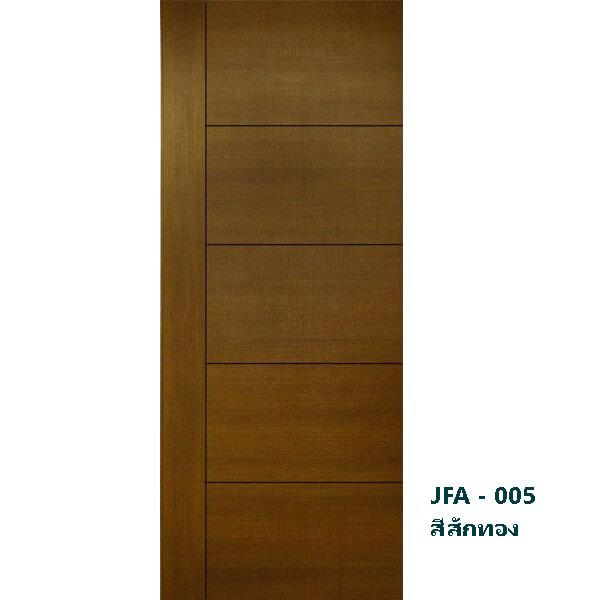 ประตู UWL MillyDoor JFA-005 ลายไม้