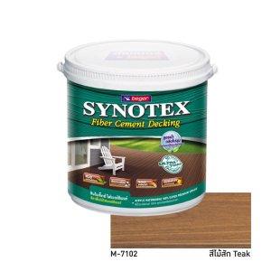 Synotex Decking Fiber Cement สีทาพื้นไม้เทียม M-7102