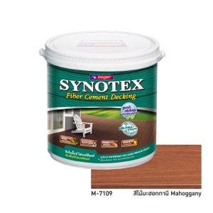 Synotex Decking Fiber Cement สีทาพื้นไม้เทียม M-7109
