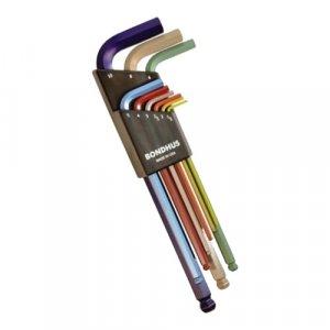 ประแจหกเหลี่ยมตัวแอล หัวบอล BONDHUS ColorGuard
