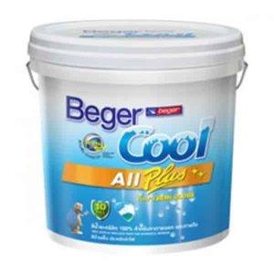 Beger Cool All Seasons สีน้ำอะครีลิกสีทาฝ้า 081-1(White Cap)