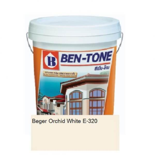 Beger Orchid White เบนโทน E-320 ภายนอก