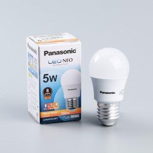 หลอด LED Warm white 5W Panasonic