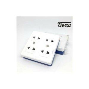 เต้ารับ 4 ช่อง VENA PTK-1