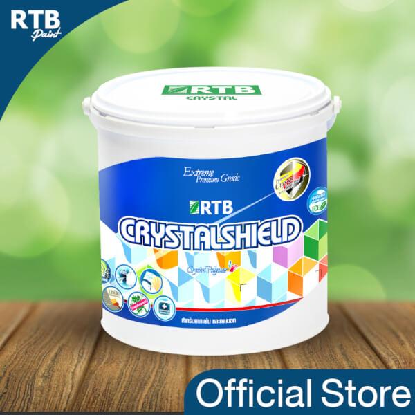 RTB Paint Crystal Shield สีทาอาคารภายนอก 1 gal.