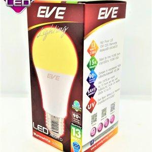 หลอด Bulb LED รุ่น A60 TD 13W วอมไวท์ E27 แสงเหลือง EVE