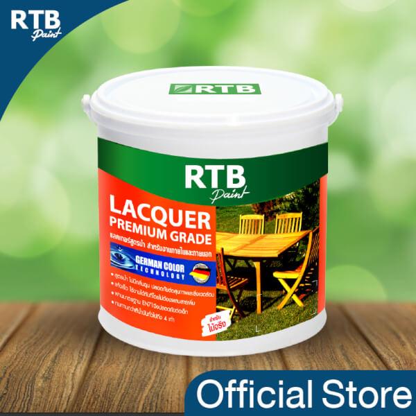 RTB Paint Lacquer แลคเกอร์ สูตรน้ำ (1 gal. และ 1/4 gal.)