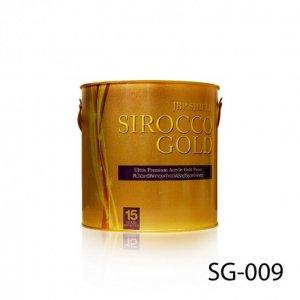 สีน้ำอะครีลิคทองคำบริลเลียนโกลด์ เจบีพี ชิลด์ซีรอคโคโกลด์ SG-005 สูตรน้ำ ขนาด 1 แกลลอน