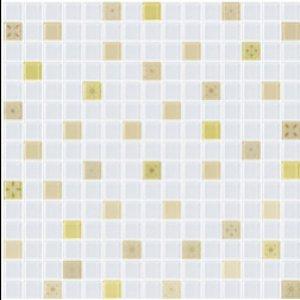 COTTO โมเสค กลาส เบลนด์ ฟลอร่า01 เหลือง(06S)12x12GA