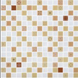 COTTO โมเสค กลาส เบลนด์ ฟลอร่า02 น้ำตาล(06S)12x12GA