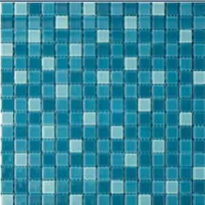 COTTO โมเสค กลาส เบลนด์ 07 เทอร์คอยซ์(06S)12x12GA