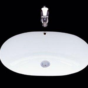 TOTO L546UDV1 อ่างล้างหน้าแบบฝังใต้เคาน์เตอร์ สีขาว