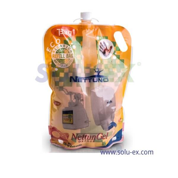 น้ำยาล้างมือแบบถุงเติม (รีฟิล) เบอร์00792 Nettuno NettunGel ขนาด 3000 ml