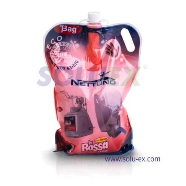 น้ำยาล้างมือแบบถุงเติม (รีฟิล) เบอร์00787 Nettuno La Rossa in Crema ขนาด 3000 ml