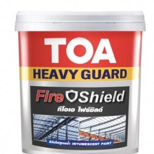 สีกันไฟ ทีโอเอ TOA Fire Shield