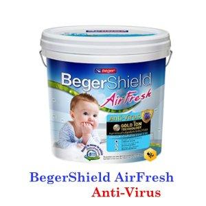 BegerShield AirFresh Anti-Virus สีน้ำอะคริลิก-กึ่งเงา
