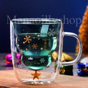 แก้วChristmas Double Wall Cup 250 ml. กว้าง11xสูง12 cm.