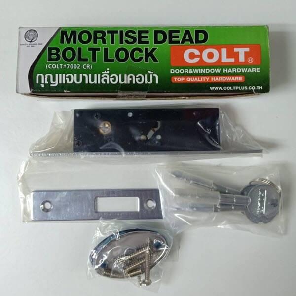 กุญแจบานเลื่อนคอม้า 7002CR COLT