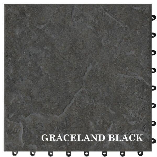 GRACELAND BLACK Cotto Quick
