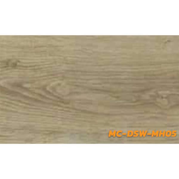 Tile กระเบื้องยางลายไม้ แบบ LVT รุ่น MC-DSW-MH05