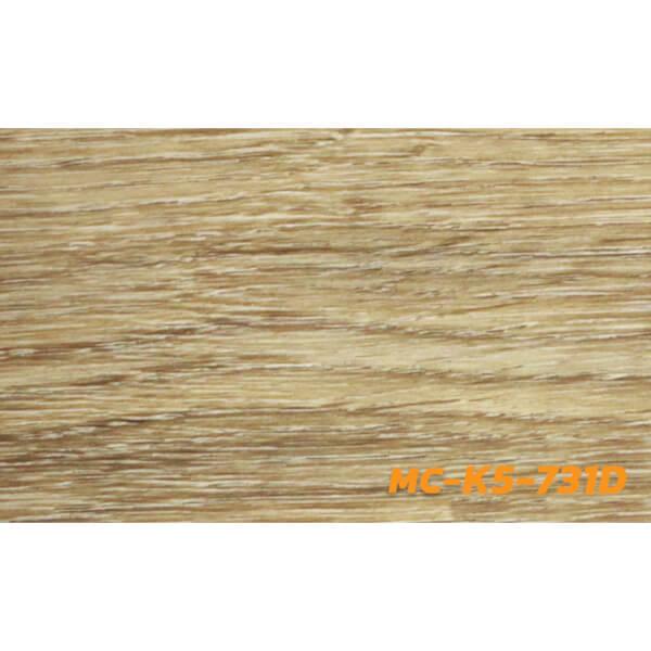Tile กระเบื้องยางลายไม้ แบบ LVT รุ่น MC-K5-731D