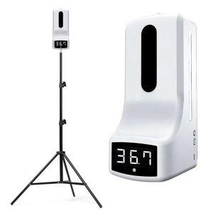 เครื่องจ่ายแอลกอฮอล์พร้อมที่วัดอุณหภูมิอินฟราเรด รุ่น K9 PRO