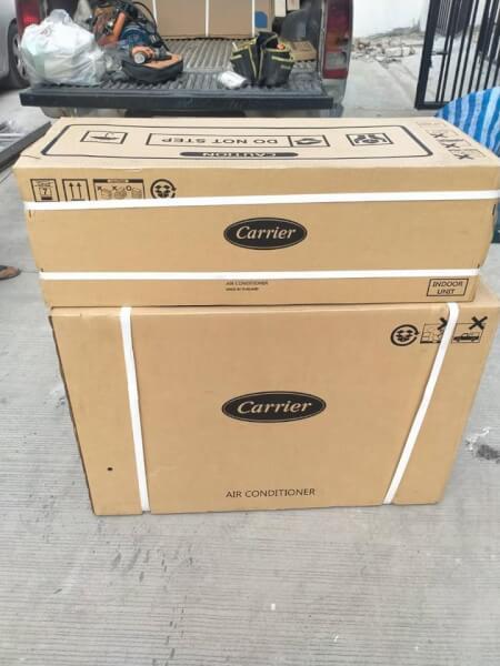 แอร์Carrier รุ่น42TEVGB018-703 (Gemini) ขนาด18000บีทียู ติดผนัง เบอร์5 R32
