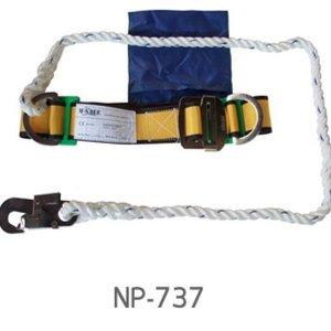 เข็มขัดนิรภัยคาดเอว NP -737 ตะขอเล็ก
