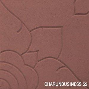 แผ่นคอนกรีตปูพื้น ลายไทย 902 สีแดง