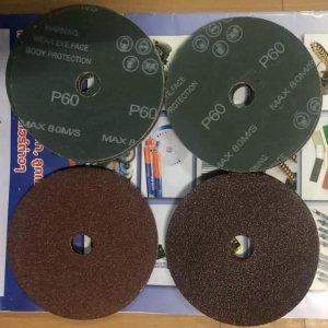 กระดาษทรายกลม FIBER DISC