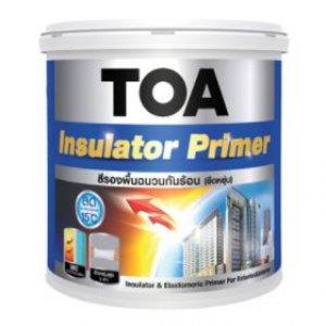 TOA อินซูเลเตอร์ สีรองพื้นยืดหยุ่นสะท้อนความร้อน ขนาด 18 ลิตร