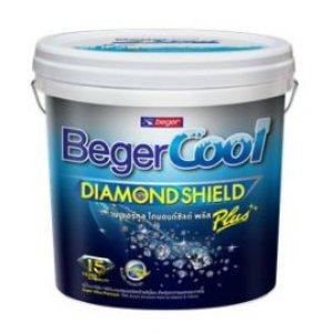 Beger คูลไดมอนด์ชิลด์ พลัส ชนิดกึ่งเงา เบสA ขนาด 3ลิตร เกรดสูง 15ปี