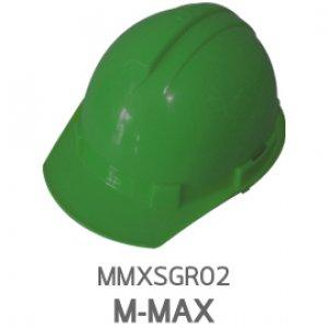 หมวกนิรภัย ABS ยี่ห้อ M-MAX สีเขียว