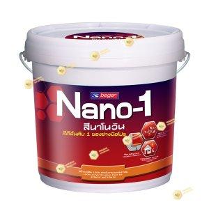 NaNo-1 สีรองพื้นปูนใหม่ เบเยอร์ 1400 ขนาด2.5gl