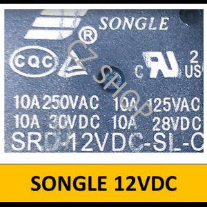 SONGLE 12VDC Relay 5V 1ตัว