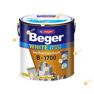 เบเยอร์ สีรองพื้นปูนเก่า B-1700 ไวท์ คอนแทค ไพรเมอร์-1gl