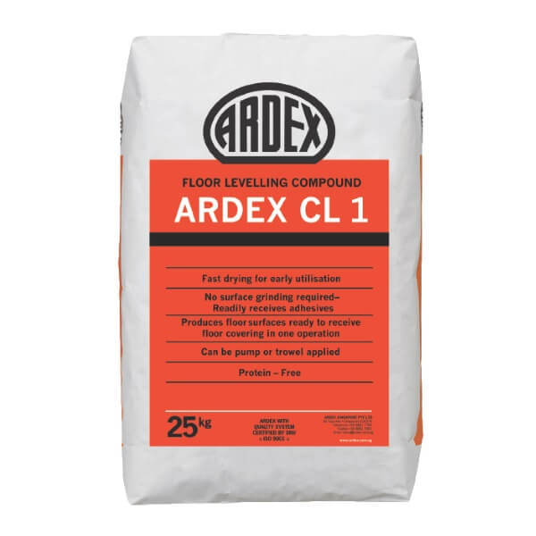 ARDEX CL 1 Floor Levelling Compound 25 กก.