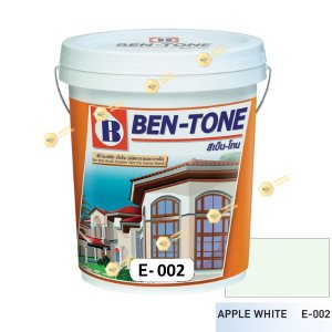 เบนโทน เบเยอร์ Apple White E-002 สีน้ำอะคริลิกภายนอก-ใน