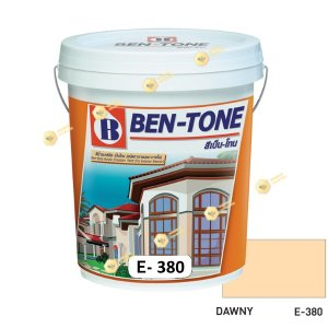 เบนโทน เบเยอร์ Dawny E-380 สีน้ำอะคริลิกภายนอก-ใน