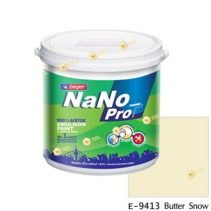 นาโนโปร สีน้ำอะคริลิก E-9413 สีน้ำด้านภายนอก-1gl