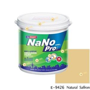 นาโนโปร สีน้ำอะคริลิก E-9426 สีน้ำด้านภายนอก-1gl