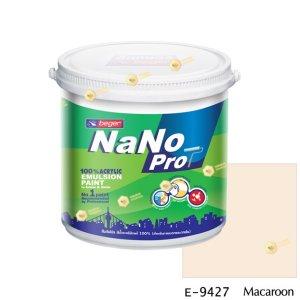 นาโนโปร สีน้ำอะคริลิก E-9427 สีน้ำด้านภายนอก-1gl