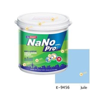 นาโนโปร สีน้ำอะคริลิก E-9456 สีน้ำด้านภายนอก-1gl