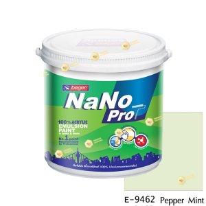 นาโนโปร สีน้ำอะคริลิก E-9462 สีน้ำด้านภายนอก-1gl
